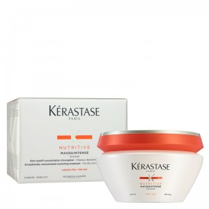 KERASTASE NUTRITIVE IRISOME MASQUINTENSE maska do włosów cienkich 200ml