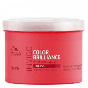 Wella Invigo Color Brilliance maska do włosów farbowanych, grubych 500ml