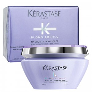 Kérastase Blond Absolu Ultra-Violet maska neutralizująca włosy blond 200ml