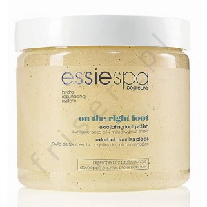 ESSIE SPA PEDICURE ON THE RIGHT FOOT złuszczający peeling do stóp 495g