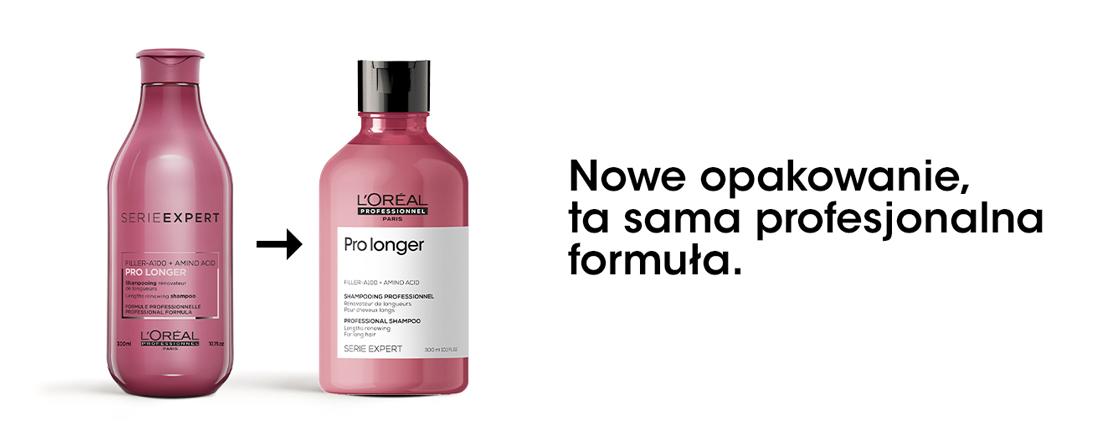 Nowe opakowania L'Oréal Professionnel Pro Longer, ta sama skuteczna formuła