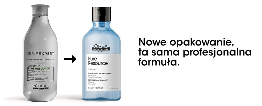Pure Resource szampon do przetłuszczającej się skóry głowy