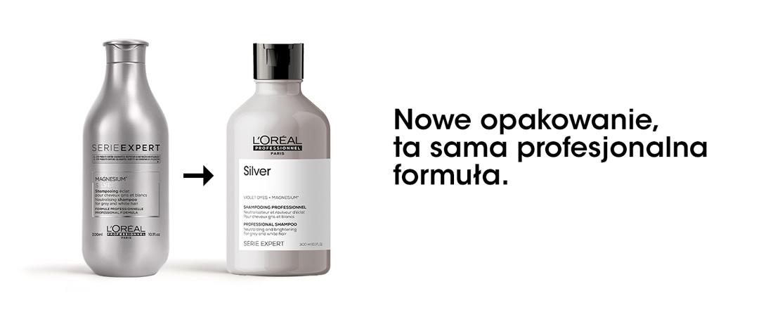 Silver szampon do włosów siwych i rozjaśnionych