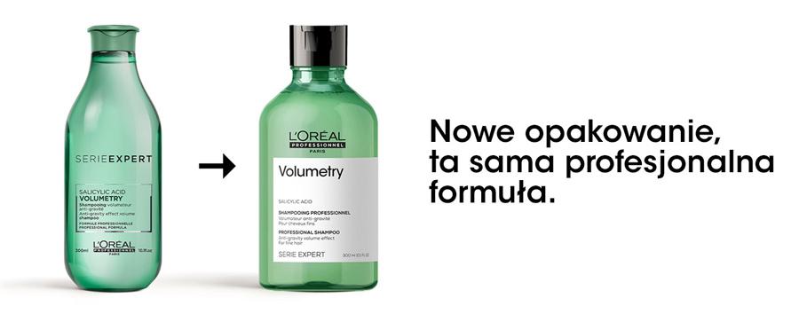 Volumetry szampon do włosów cienkich i delikatnych